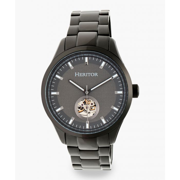 Image for Heritor Automatic Crew black watch