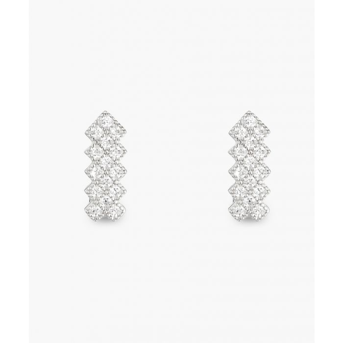 Image for Murano silver-plated earrings