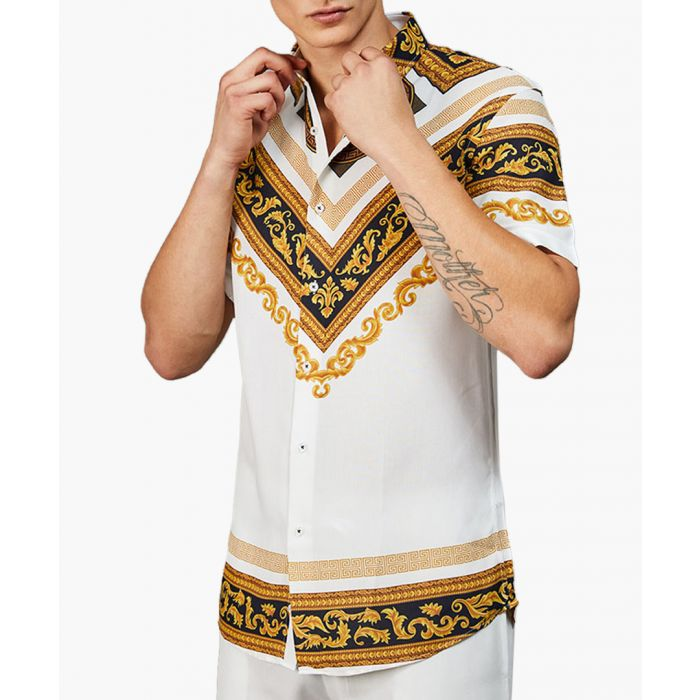 Image for Apollo gold printed short sleeve shirt