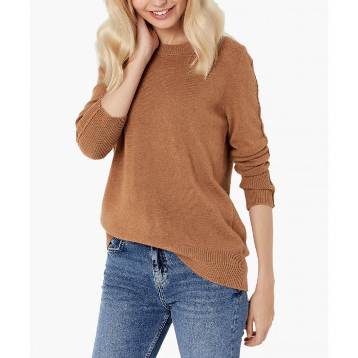 Image for Caramel pure cashmere jumper