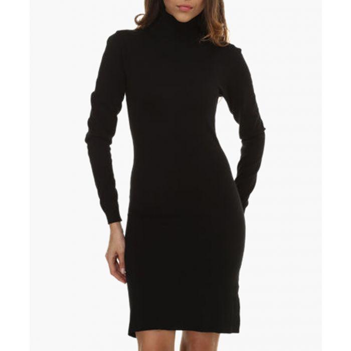 Image for Black cashmere blend dresses