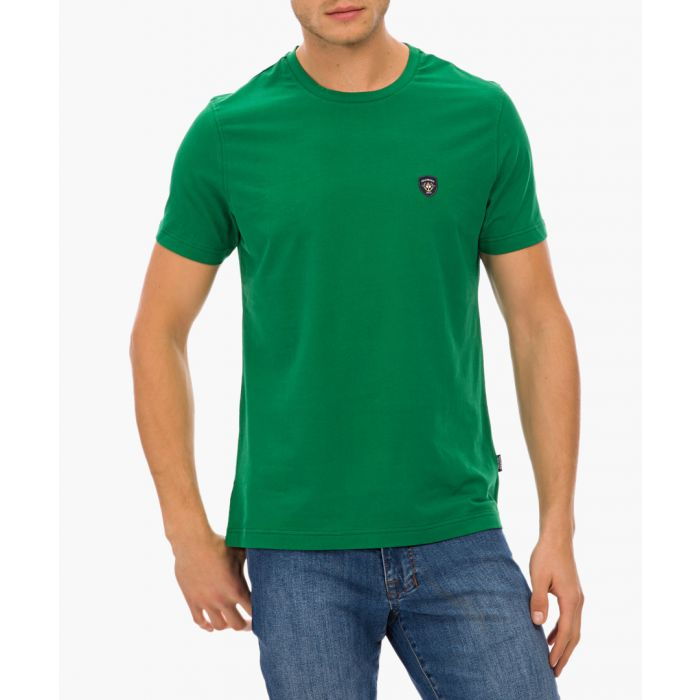 Image for Green cotton blend T-shirt
