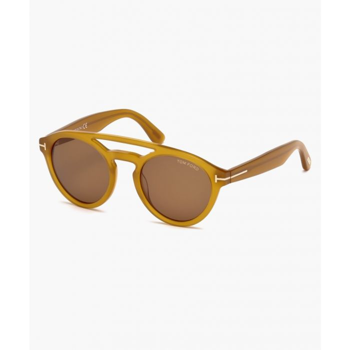 Image for Clint mustard sunglasses
