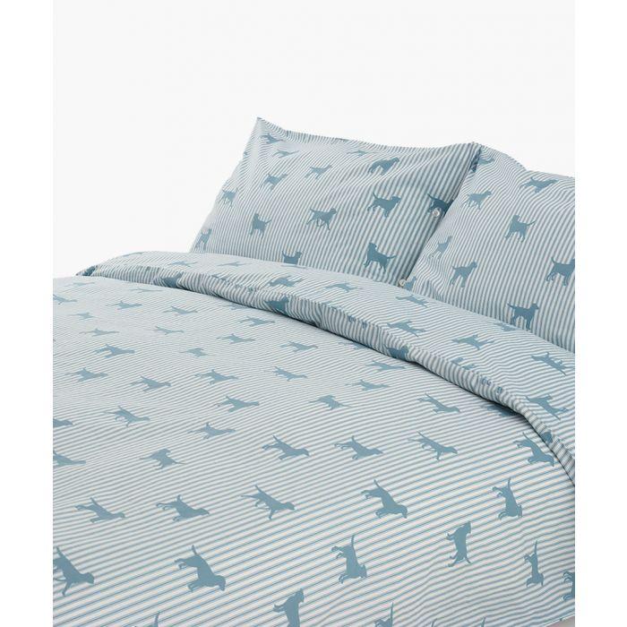 Image for Dachshund blue king duvet set