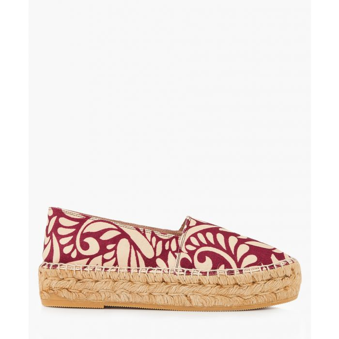 Image for Riviera Woodstock brocade espadrilles