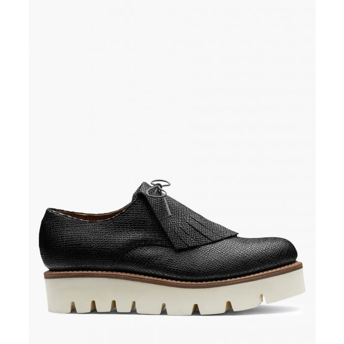 Image for Women's lead leather platform loafers