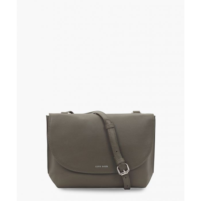Image for Olive leather crossbody