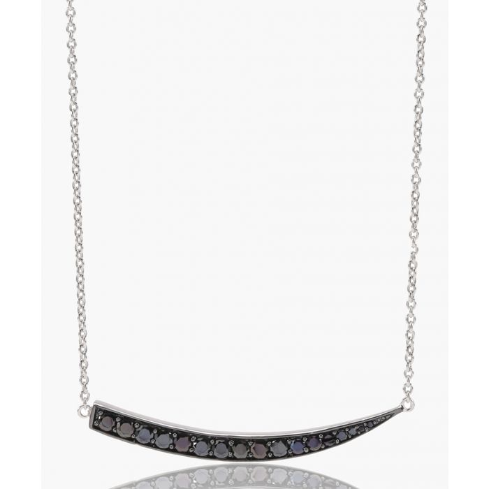 Image for Pila Grande black necklace