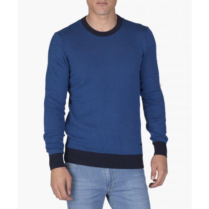 Image for Navy blue cotton jumper