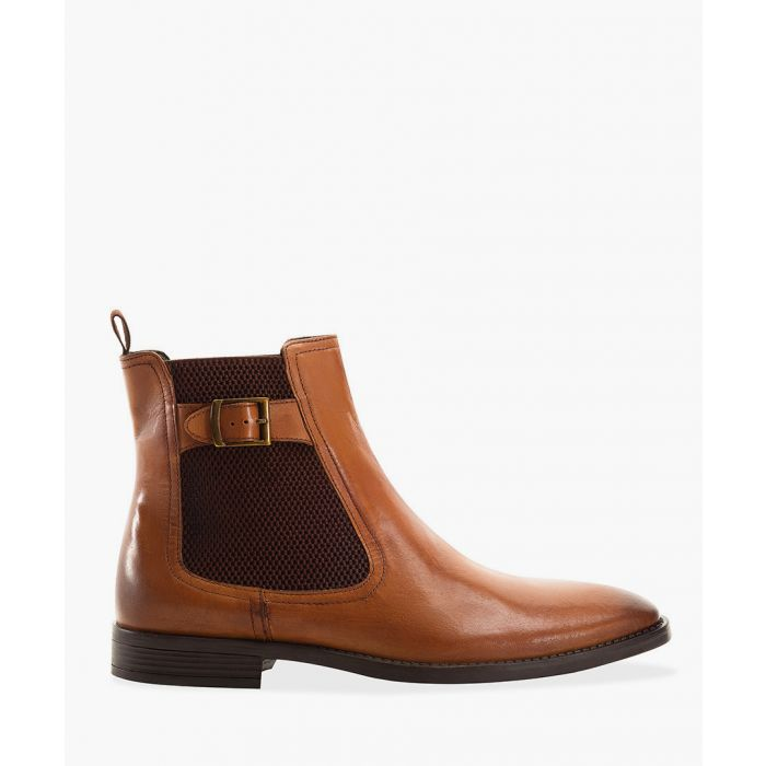 Image for Tan rubber Chelsea boots