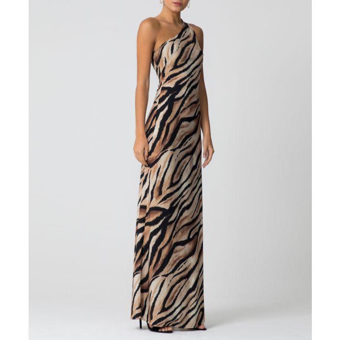 Image for Lana animal print maxi dress