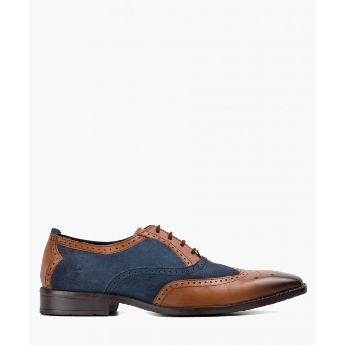 Image for Multi-coloured leather Oxford shoes