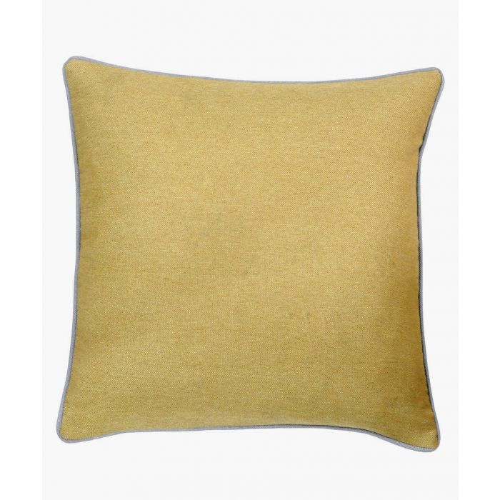 Image for Bellucci yellow cushion
