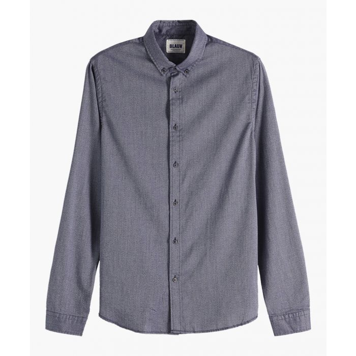 Image for Blauw Oxford Shirt