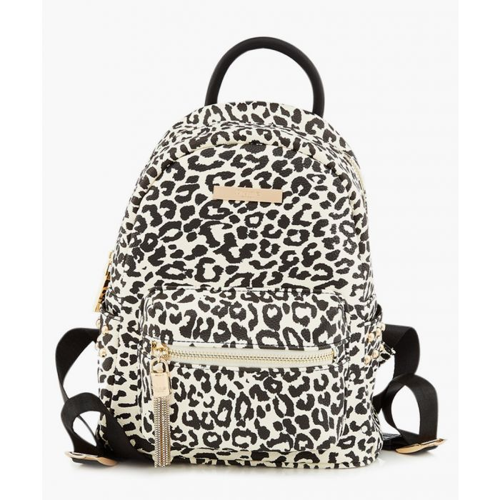 Image for Dune Snow leopard print backpack School Bags snow leopard