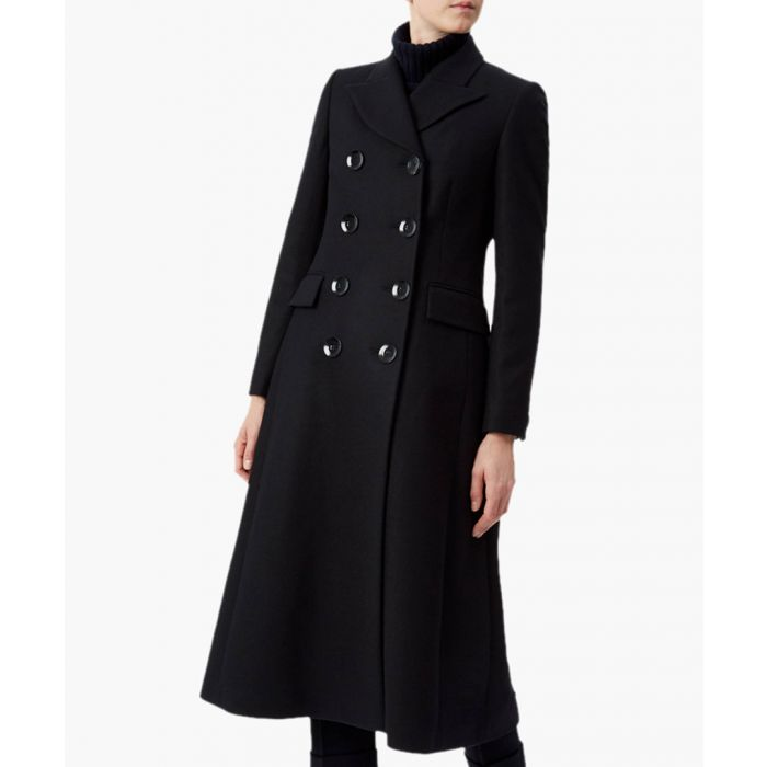 Image for Captain Wool & Cashmere Mix Long Coat
