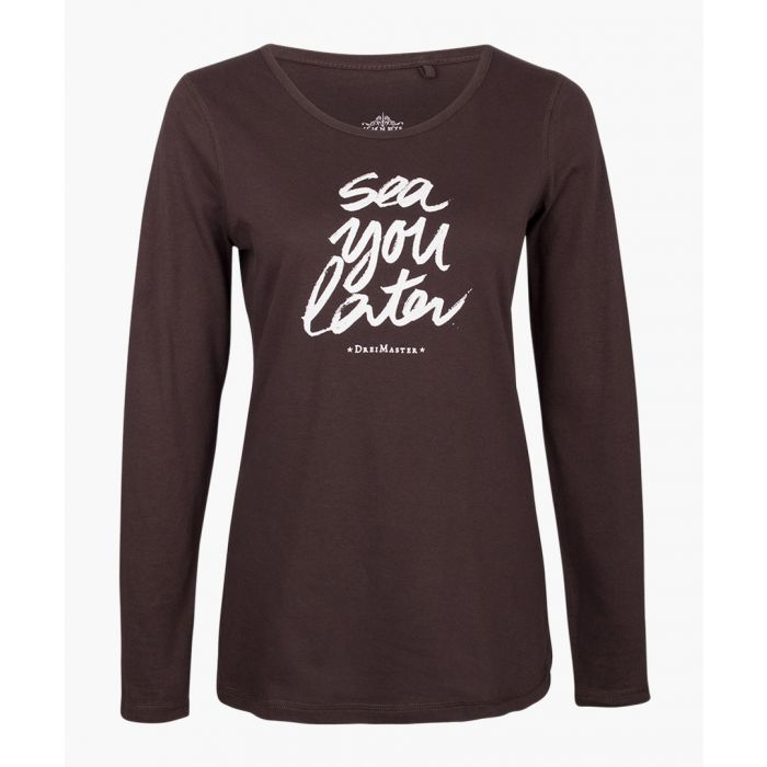 Image for Brown long sleeved top