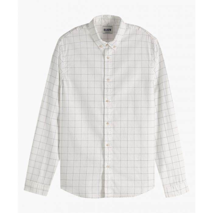 Image for Ecru pure cotton oxford shirt