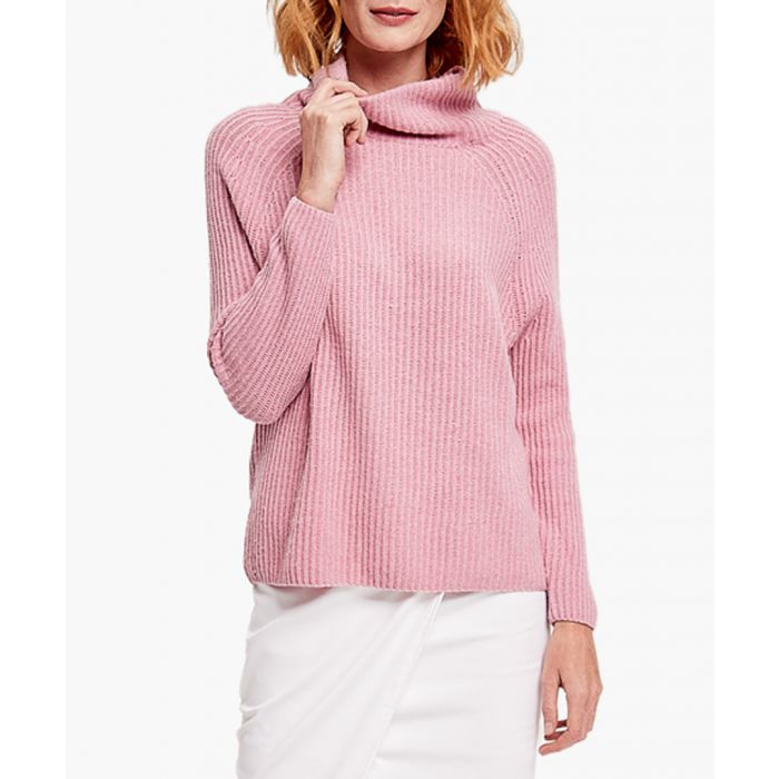Image for Rose merino wool and cashmere blend jumper