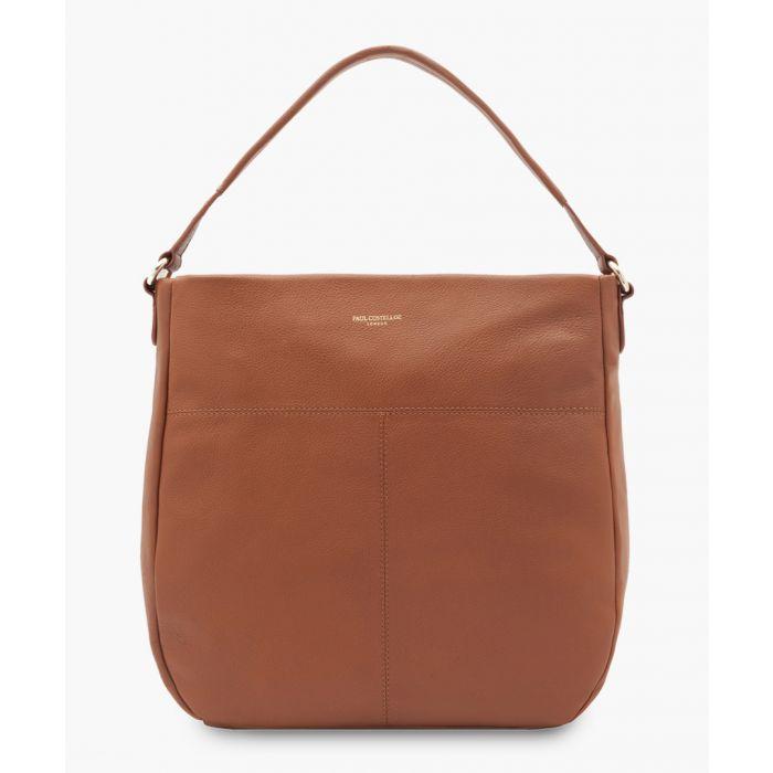 Image for Merida tan leather bag