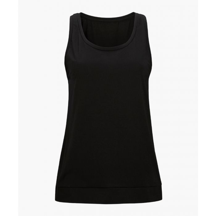 Image for Carmel black loose tank top