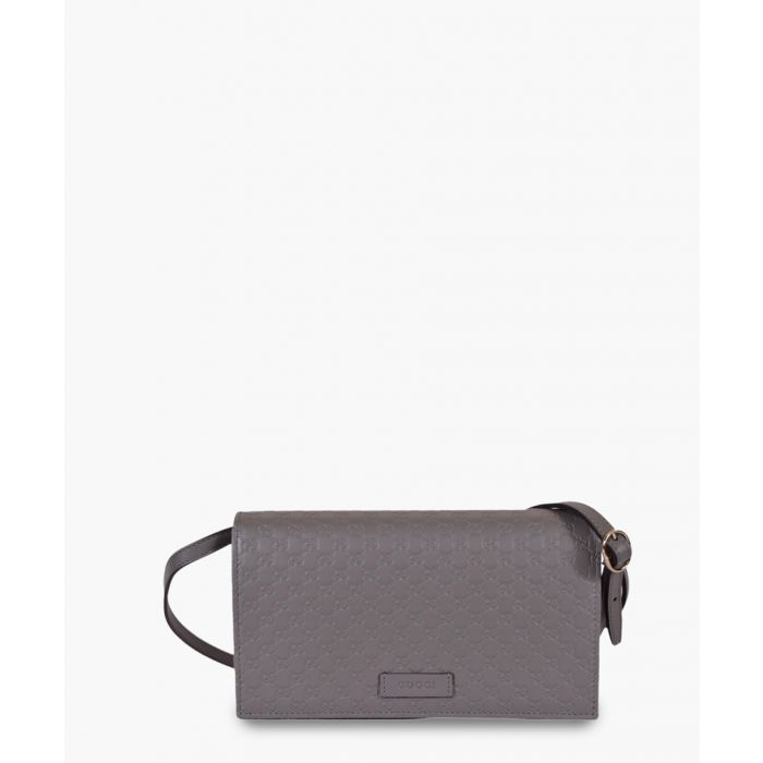 Image for Guccissima grey leather crossbody