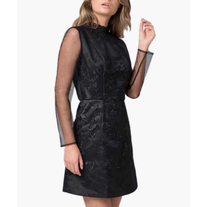 Image for Eyva black mini dress