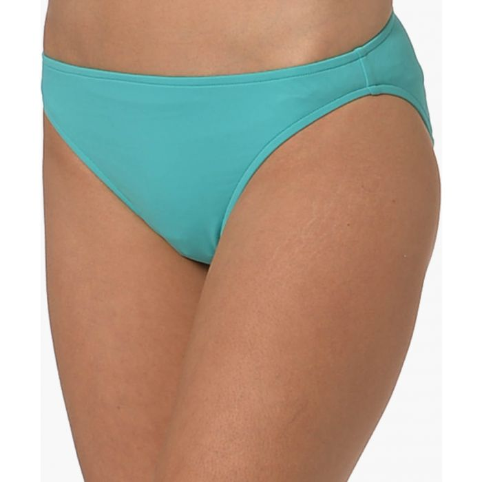 Image for Blue basic bikini briefs