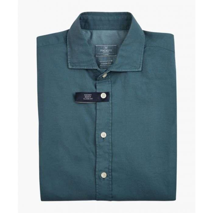 Image for Petrol button-up shirt