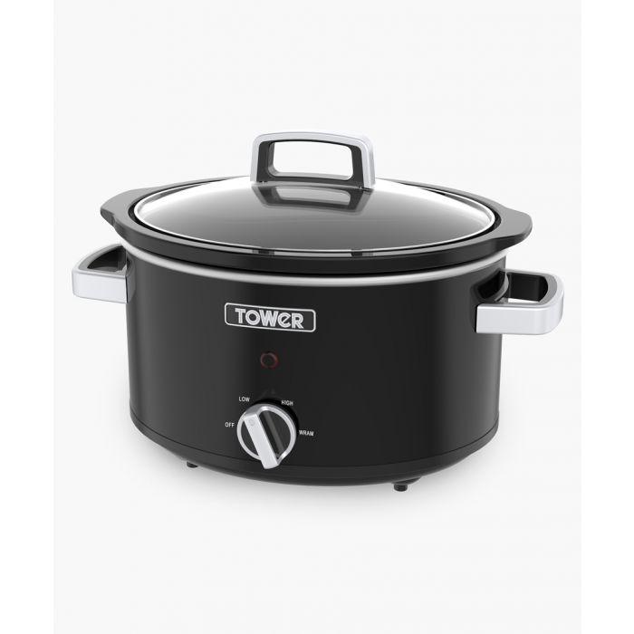 Image for Black slow cooker 3.5L