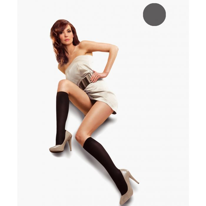 Image for Smoky knee-high socks 50 denier
