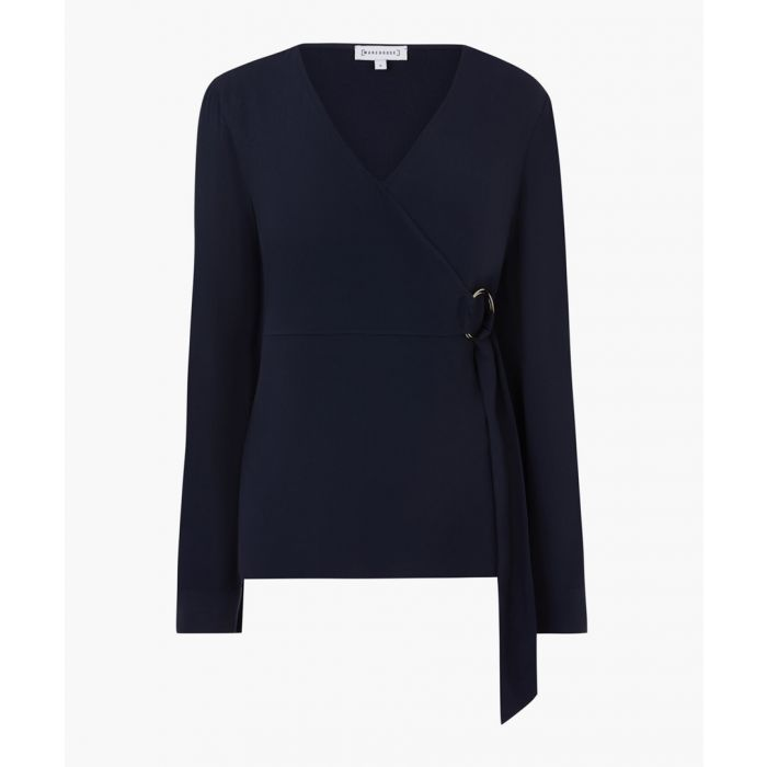 Image for Navy o-ring wrap top