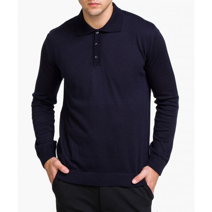 Image for Navy polo shirt
