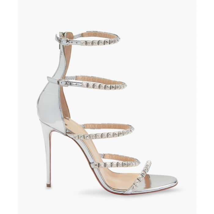 Image for Forever Girl silver jewelled stilettos