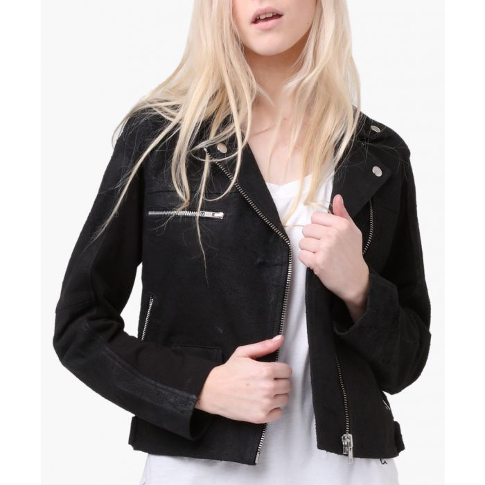 Image for Jet black divide jacket