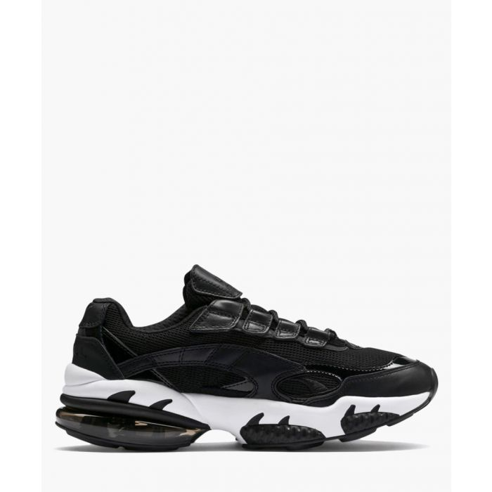 Image for Cell venom reflective black trainers
