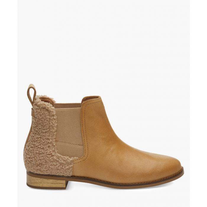 Image for Ella tan canvas shoes