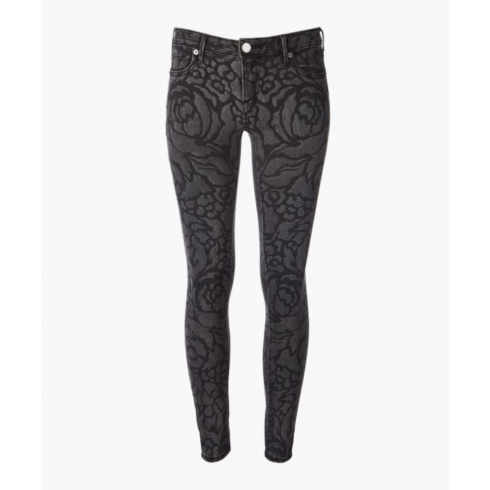 Image for Jennie grey lace-up jeans