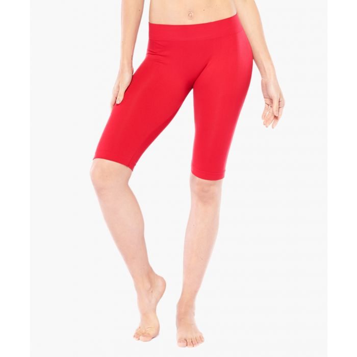 Image for Red Biker Shorts