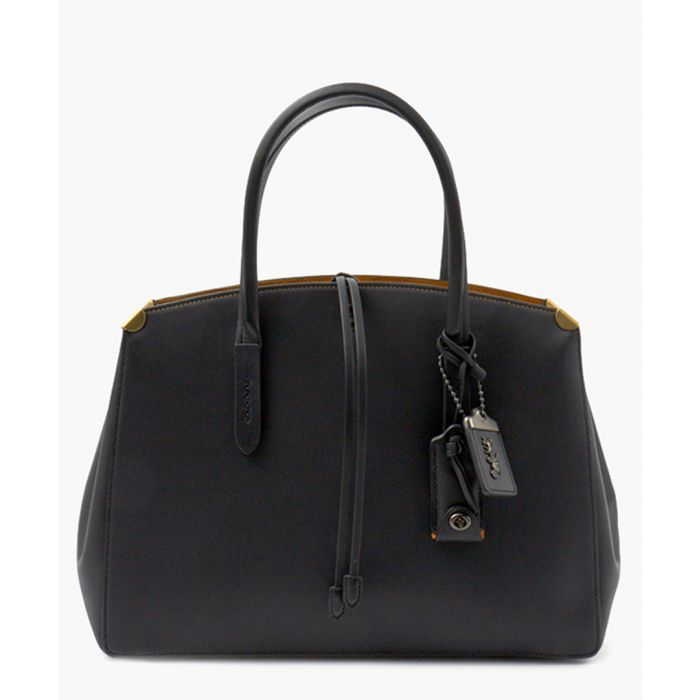 Image for Cooper black leather shoulder bag