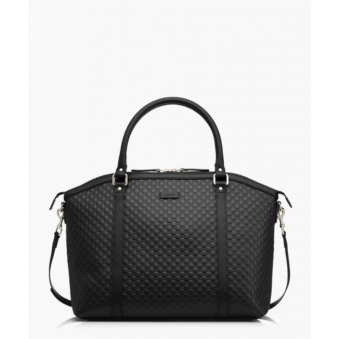 Image for Nice black Microguccissima zipped tote