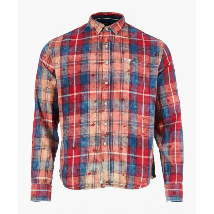 Image for Multi check long sleeve shirt