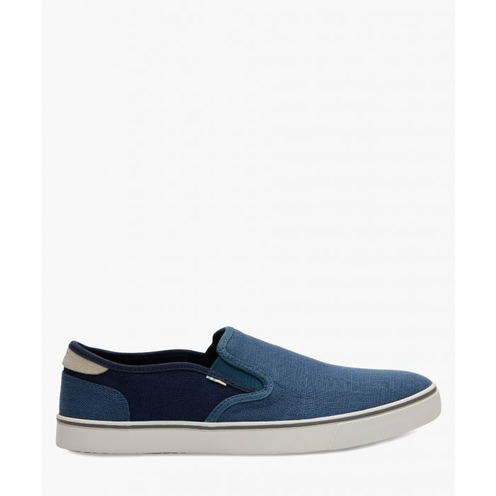 Image for Baja blue canvas shoes