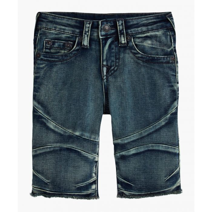 Image for Geno grey cotton shorts