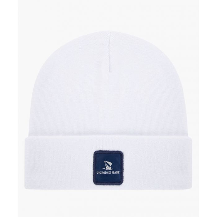 Image for White pure cotton hat