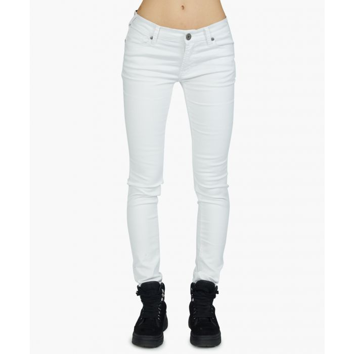 Image for Super stretch-cotton skinny jeans