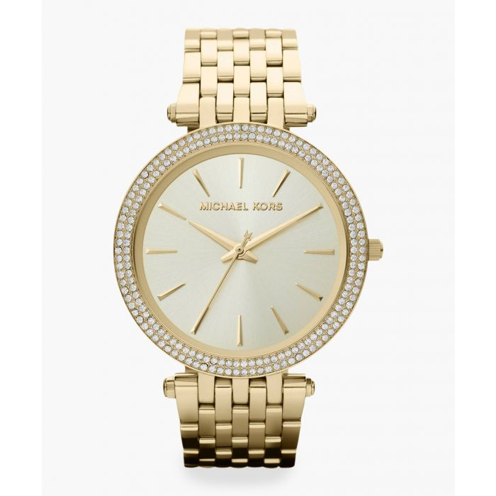 Image for 14ct gold-plated stainless steel watch