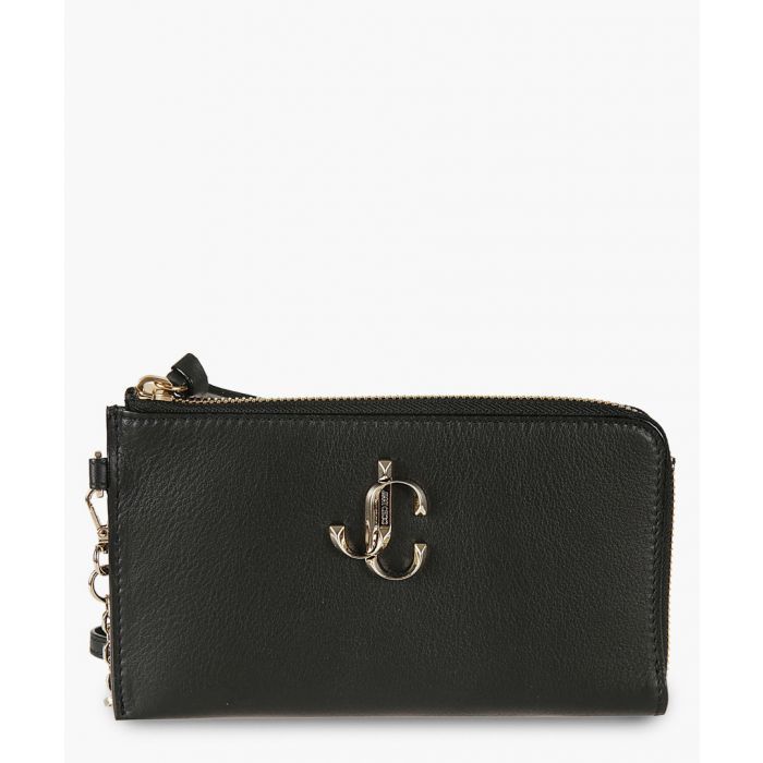 Image for Jolly black leather clutch
