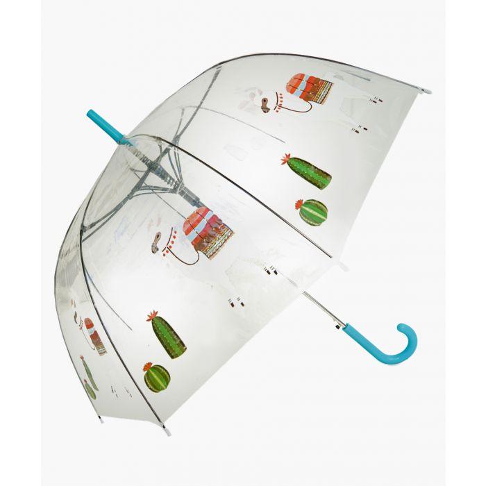 Image for Llama and cacti printed umbrella