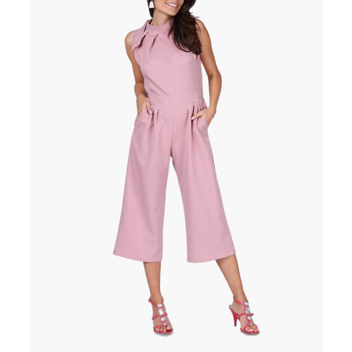 Image for Light pink woven jumpsuit